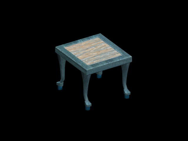 egyptian endtable
