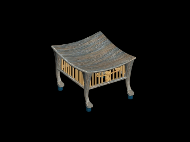 egyptian stool