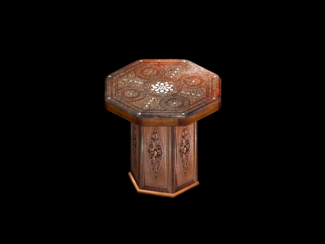 moroccan gengon table